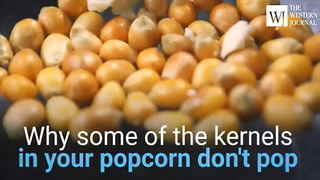 Ever Wonder Why Some of Your Popcorn Kernels Don't Pop? Here's the Scoop. (C) - Video