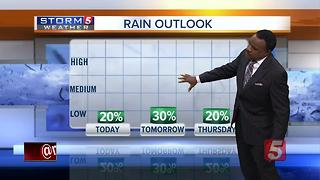 Lelan's Morning Forecast: Tuesday, August 1, 2017 - Video