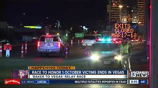 Baker to Vegas runners arrive in Las Vegas - Video