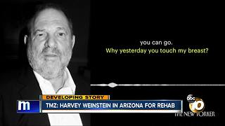 TMZ: Harvey Weinstein in Arizona for rehab - Video