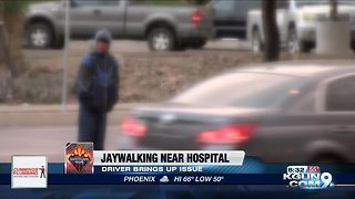 Driver expresses concern over constant jaywalking near St. Mary's Hospital