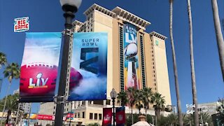 Super bowl committee hosts welcome event
