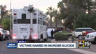 Victims in Mesa murder-suicide identified by police - Video