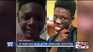 12-year-old dead after okmulgee shooting