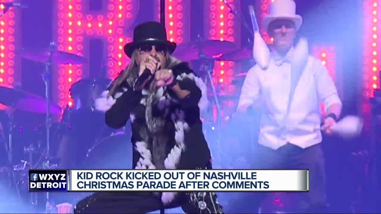 Kid Rock out as Christmas Parade Grand Marshal in Nashville, James ...