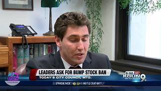 City considers requesting ban of bump stocks - Video