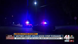 Leavenworth officer fired for deadly shooting - Video
