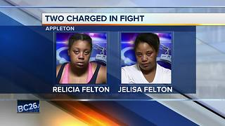 Two people charged in connection to Appleton fight - Video