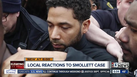 Local groups react to Jussie Smollett case