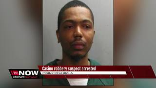 Suspect arrested in Hard Rock Casino robbery - Video
