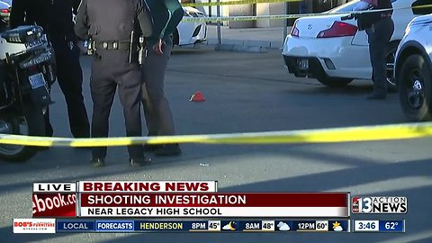 16-year-old boy critically injured in North Las Vegas shooting