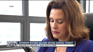 Governor Whitmer to deliver second State of the State Address