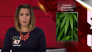 Lansing City Council discusses medical marijuana ordinance - Video