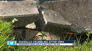 Cape Council addresses seawalls crumbling after Irma - Video