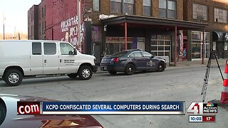 KCPD confiscated several computers during search