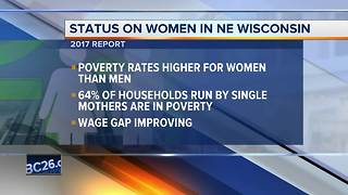 New report shows challenges women face in Northeast Wisconsin - Video