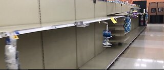 Clark County officials discuss panic buying