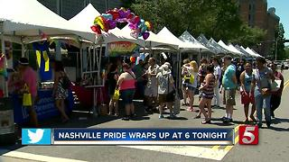 Nashville Pride Wraps Up - Video