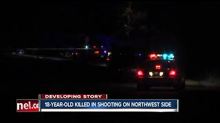 18-year-old shot and killed on Vinewood Avenue on Indianapolis' west side - Video