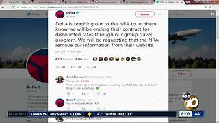 Several companies end partnership with NRA