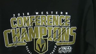 Stores selling Vegas Golden Knights championship gear after Sunday's historic win - Video