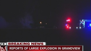 Explosion reported in Grandview, Mo. - Video