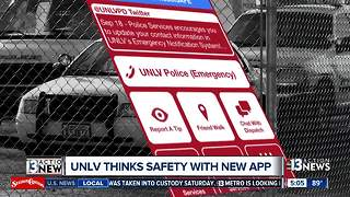 UNLV launches new safety app - Video