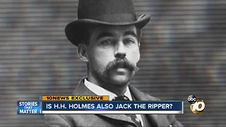 Is H.H. Holmes also Jack the Ripper? - Video