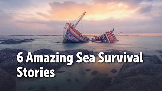 6 Amazing Sea Survival  Stories - Video