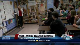 University High Art History teacher finalist for teacher of the year - Video