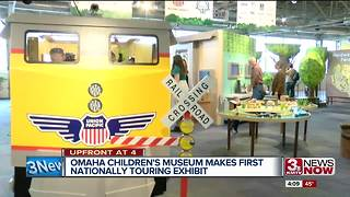 Omaha Children's Museum gets in the business of touring exhibits - Video