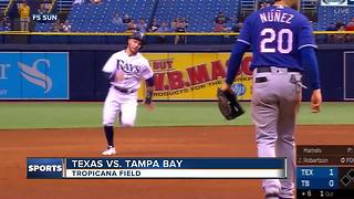 Jake Faria gets 1st win since July, Tampa Bay Rays beat Texas Rangers 4-2 - Video