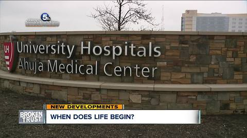 Judge to decide if an embryo is a person in University Hospitals fertility clinic case