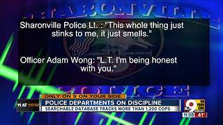 Are problem cops patrolling your neighborhood? WCPO Investigative Report - Video
