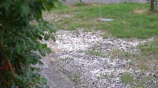 Hail storm pummels Sacramento - Video