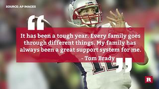 Tom Brady honors mom amid Super Bowl victory | Rare News - Video