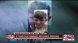 Authorities in Delaware County search for missing 9-year-old boy - Video