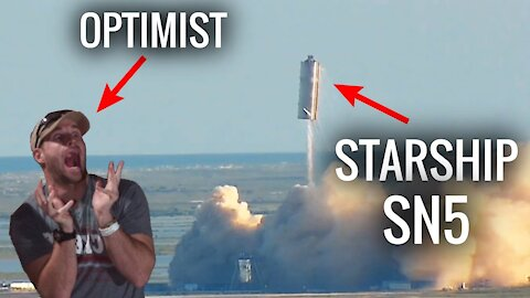 SpaceX's Starship SN5 150m Hop | Live Reaction