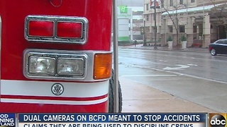 Dual cameras on city emergency vehicles being scrutinized - Video