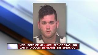 Loved ones and neighbors of Ohio man accused of crashing car into counter-protesters speak out - Video