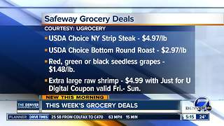 UGrocery gies us some of us the best grocery deals this week - Video