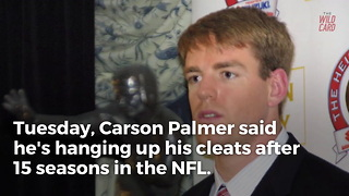 Carson Palmer Calls It A Career 1 Day After Bruce Arians Retires - Video