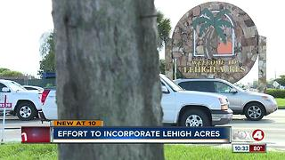 Effort to incorporate Lehigh Acres - Video