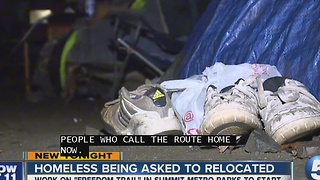 Akron homeless to move to make room for hike/bike trail - Video