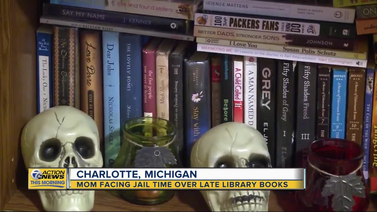 Michigan mom facing charges & possible jail time over late library books