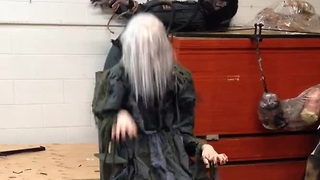 Chair Screamer: Most terrifying Halloween prop ever? - Video
