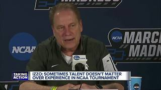 Izzo discusses talent vs. experience in NCAA Tournament - Video