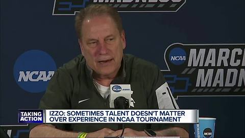 Izzo discusses talent vs. experience in NCAA Tournament