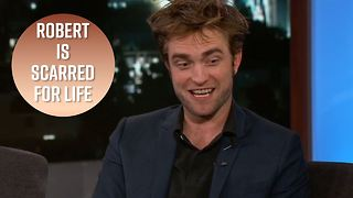 Robert Pattinson had to give a dog a h***job for a film - Video