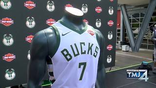 Bucks to partner with Harley-Davidson for uniform sponsorship - Video